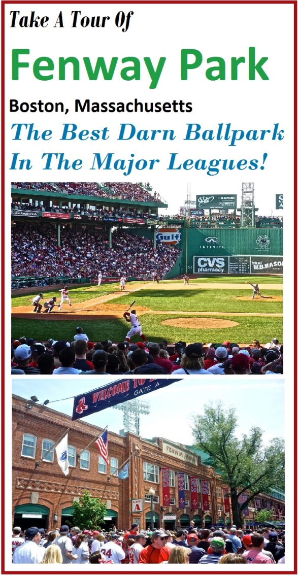 Take a tour of Fenway Park in Boston, Mass., home of the Boston Red Sox.