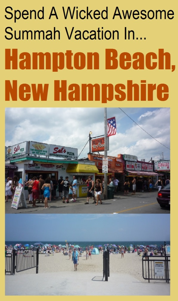Hampton Beach, N.H., a popular summer vacation destination, features a beautiful ocean beach, boardwalk, arcades, seafood restaurants, and plenty of events and places to stay.