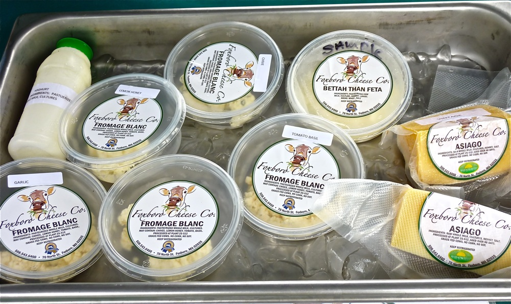 Enjoying National Cheese Month is October with a visit to Fxoboro Cheese in Foboro, Mass.