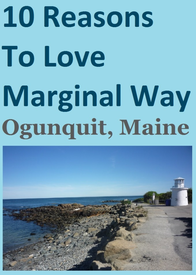 Why every New England coastal vacation should include Marginal Way in Ogunquit, Maine.