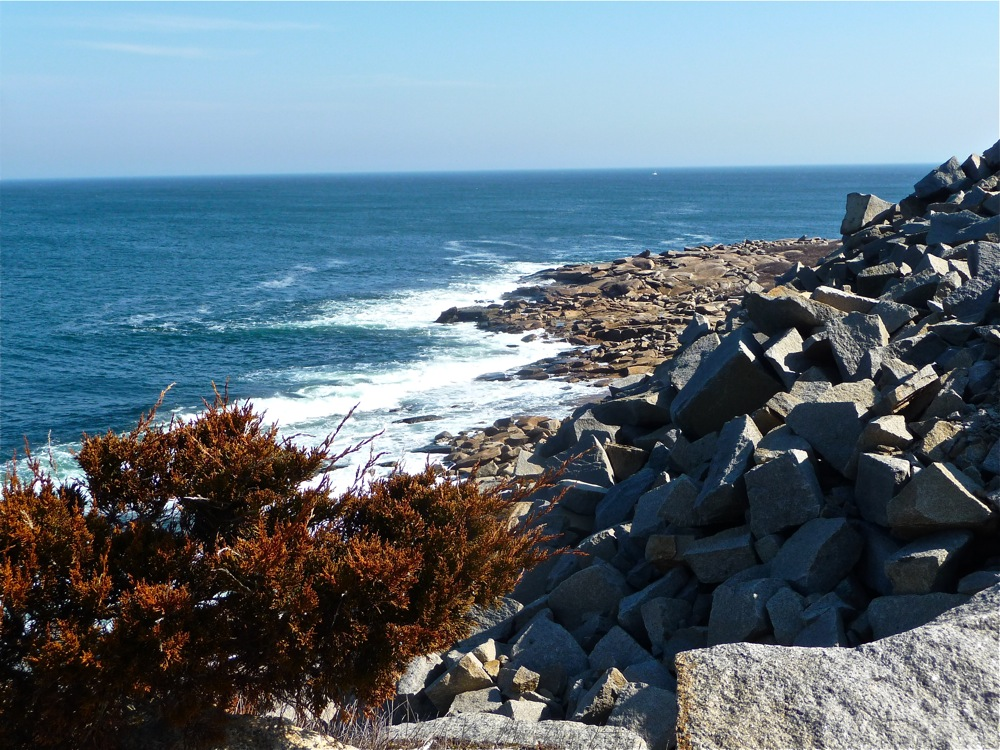 Halibut Point in Rockport, Massachusetts