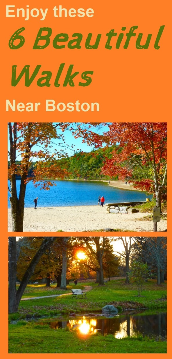 Enjoy these 6 beautiful walks not too far from Boston, Mass.