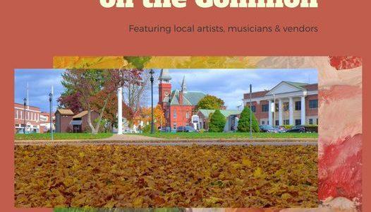 Oct. 16 Art Show, Daily Pumpkin Patch in Downtown Walpole, Mass.