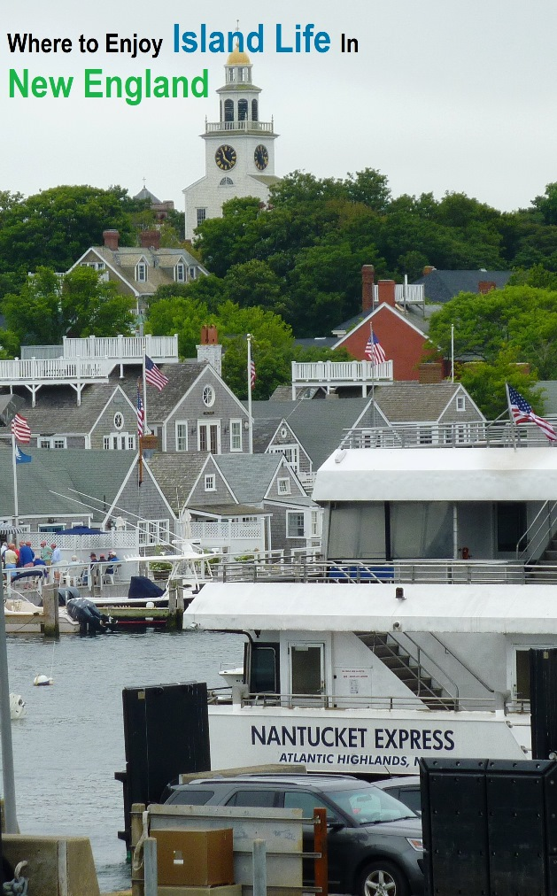 Where to enjoy island life in New England...
