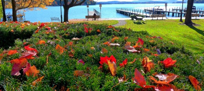 Cate Park, Wolfeboro, N.H. – Photo of the Day