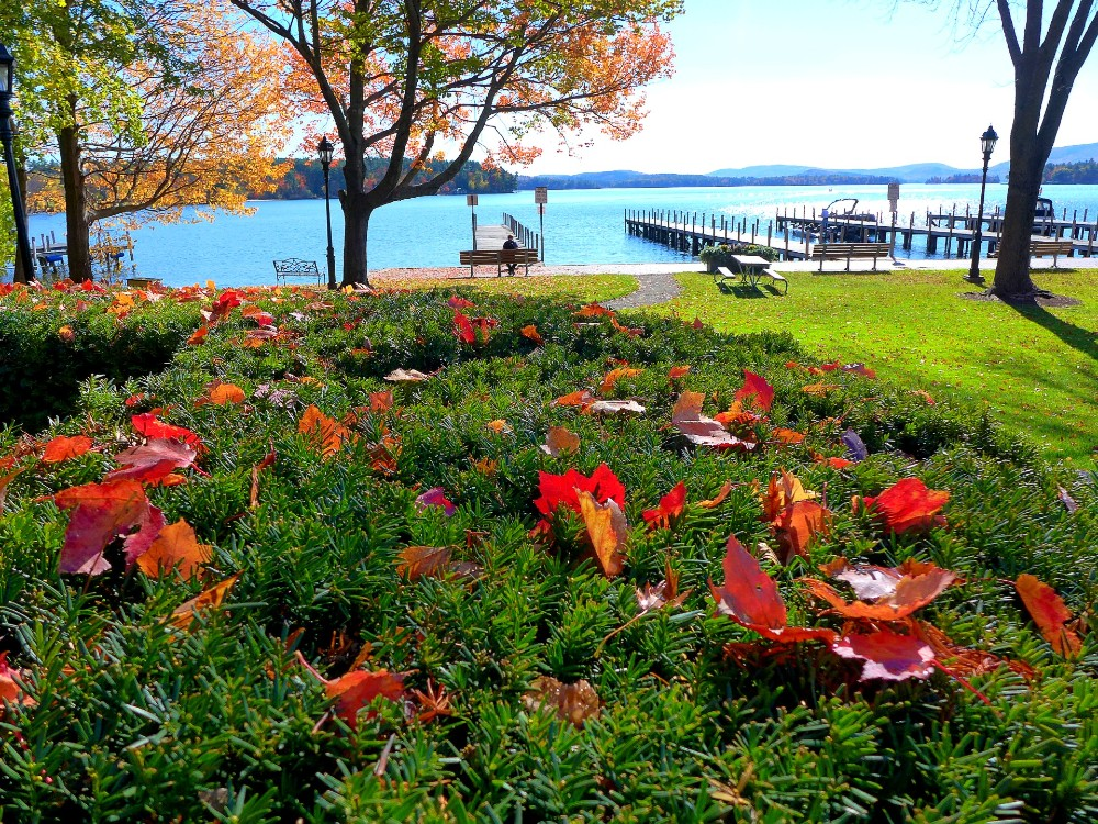 Cate Park in Wolfeboro, New Hampshire