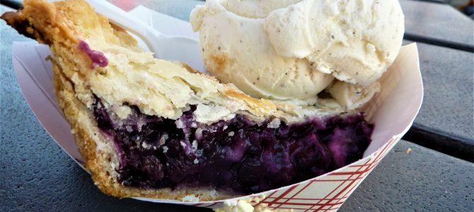 Maine Blueberry Ice Cream, Pie – Day Four of 45 Days at York Beach, Maine