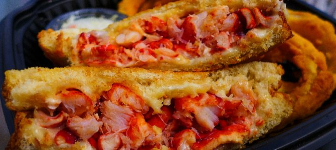 Lobster Grilled Cheese Sandwich to Die For