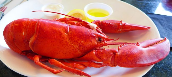 Maine Lobster – Day Six of 45 Days at York Beach, Maine