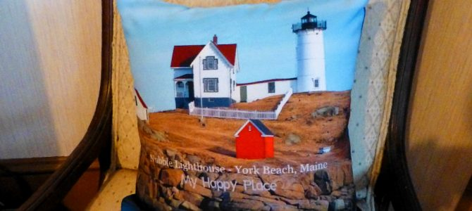 Introducing the Nubble Lighthouse Throw Pillow for Your Home