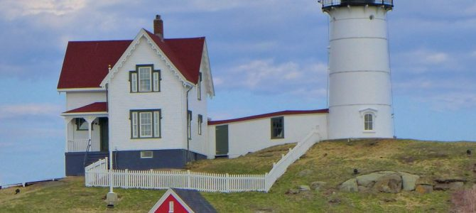 Nubble Lighthouse – Day Two of 45 Days at York Beach, Maine