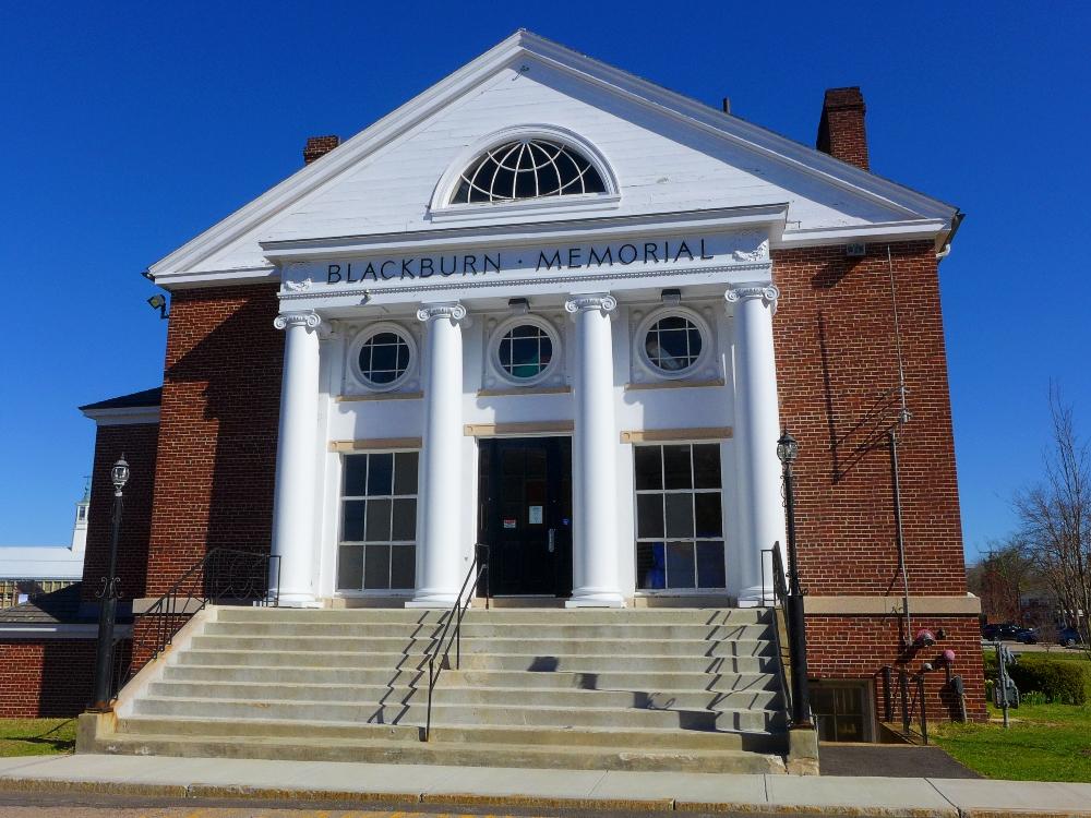 Blackburn Hall in Walpole, Mass.