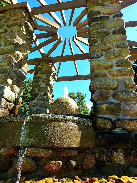 Lewis/Bacevich Memorial Fountain in Walpole, Mass.