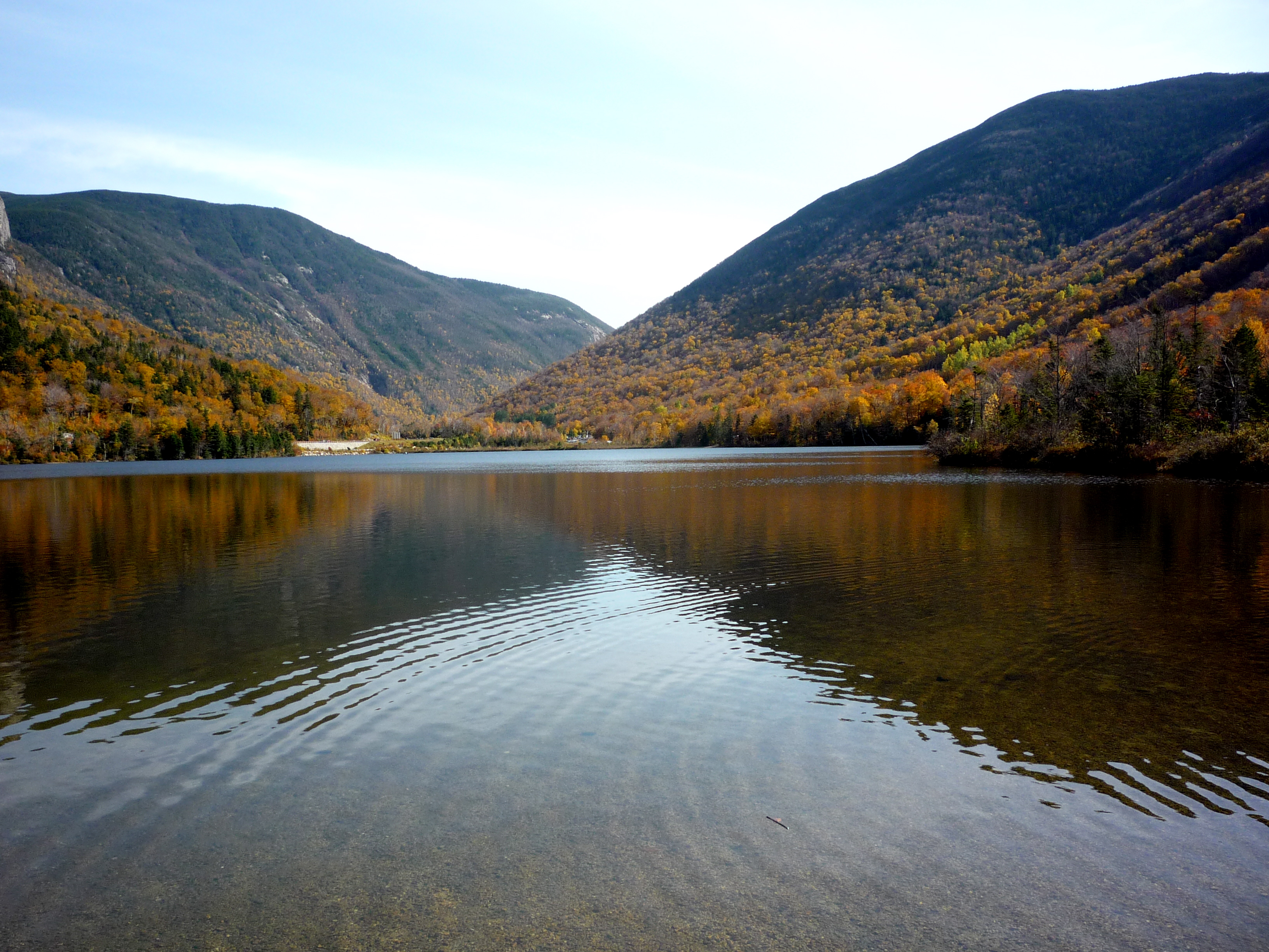 Picture of Echo Lake, Franconia Notch State Park NH
