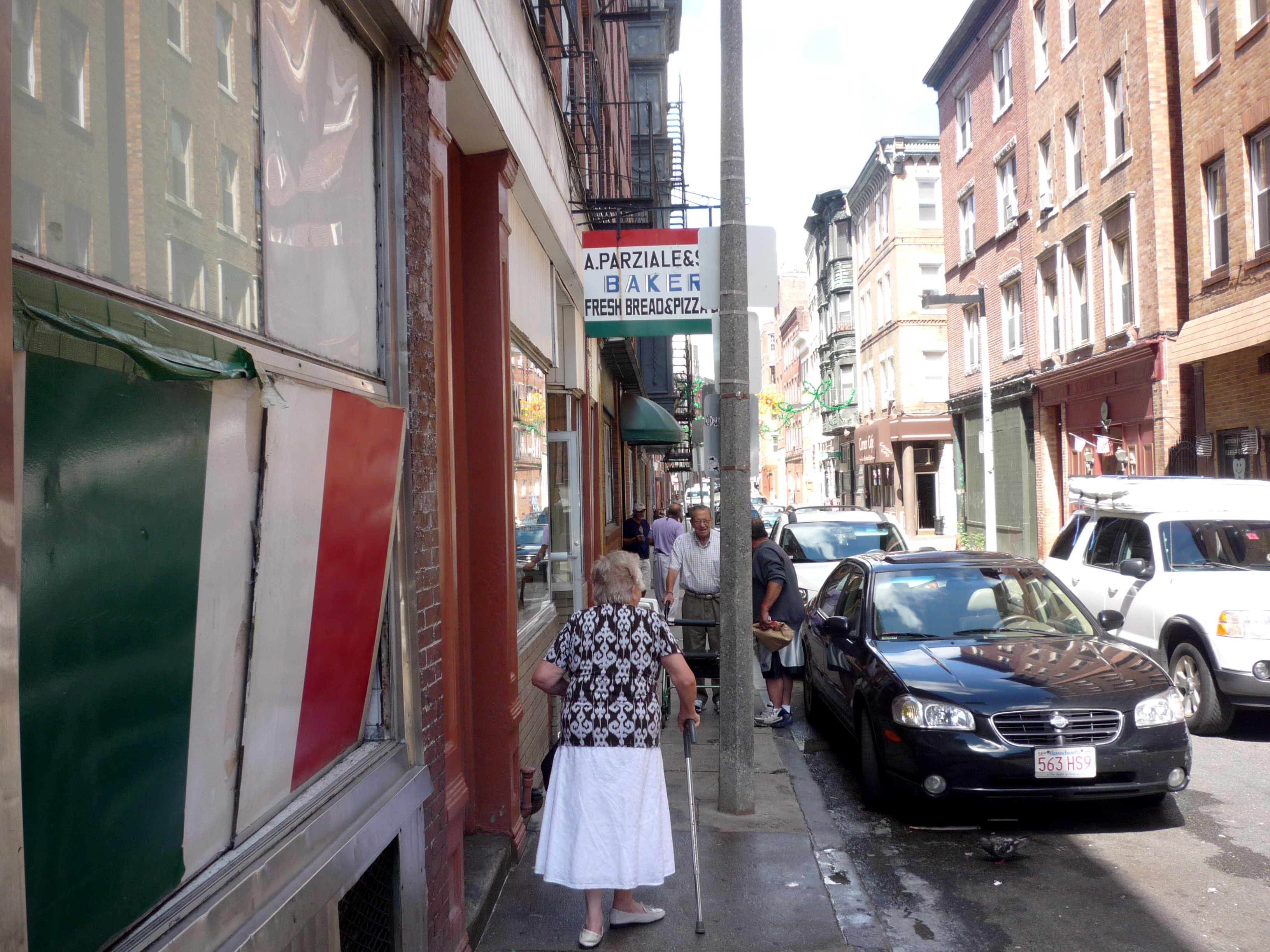 Picture of North End Boston side street