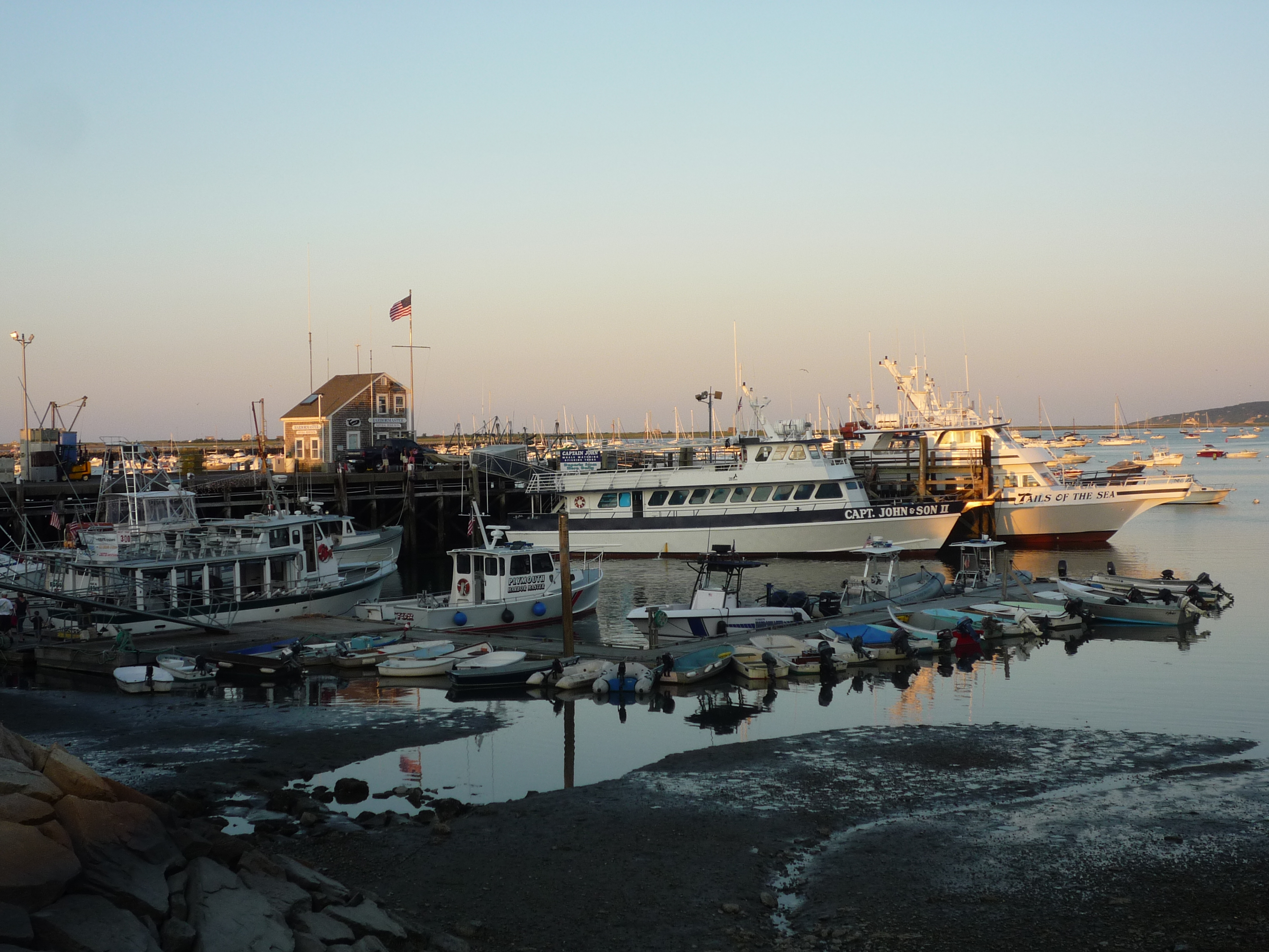 Picture of Plymouth Harbor, Plymouth MA