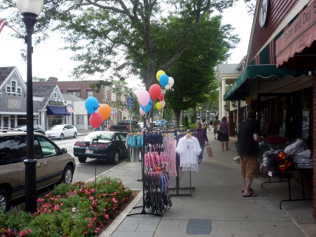 Picture of Main St. in Falmouth MA