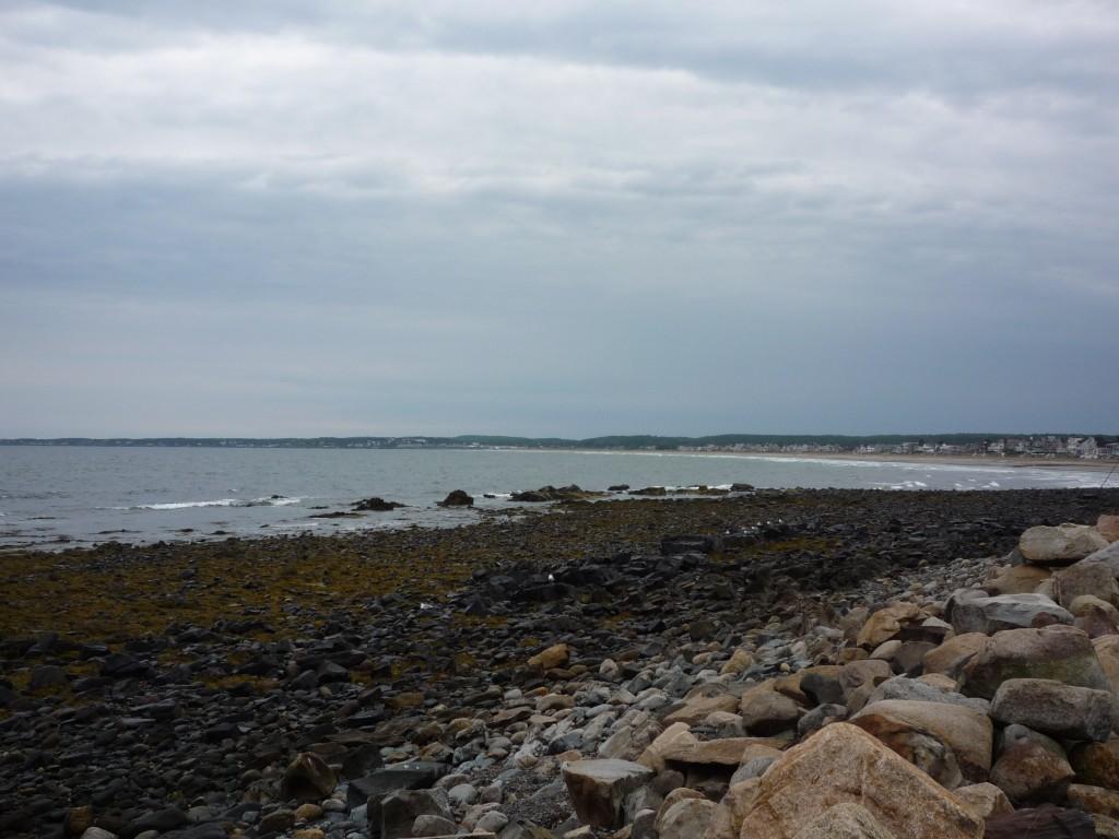 Wells Maine Coastal Beach Scene The Great New England