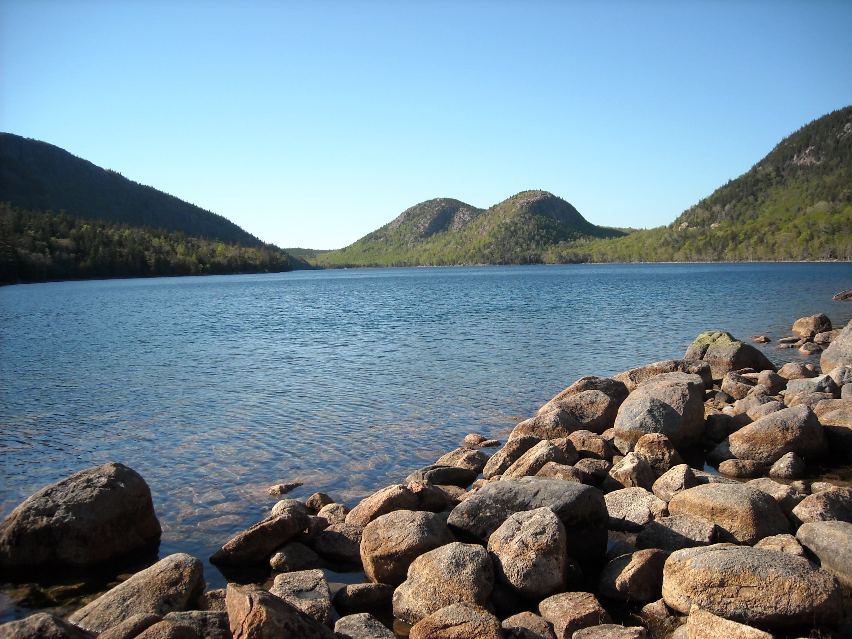 Image of Jordan Pond, Acadia National Park, Maine