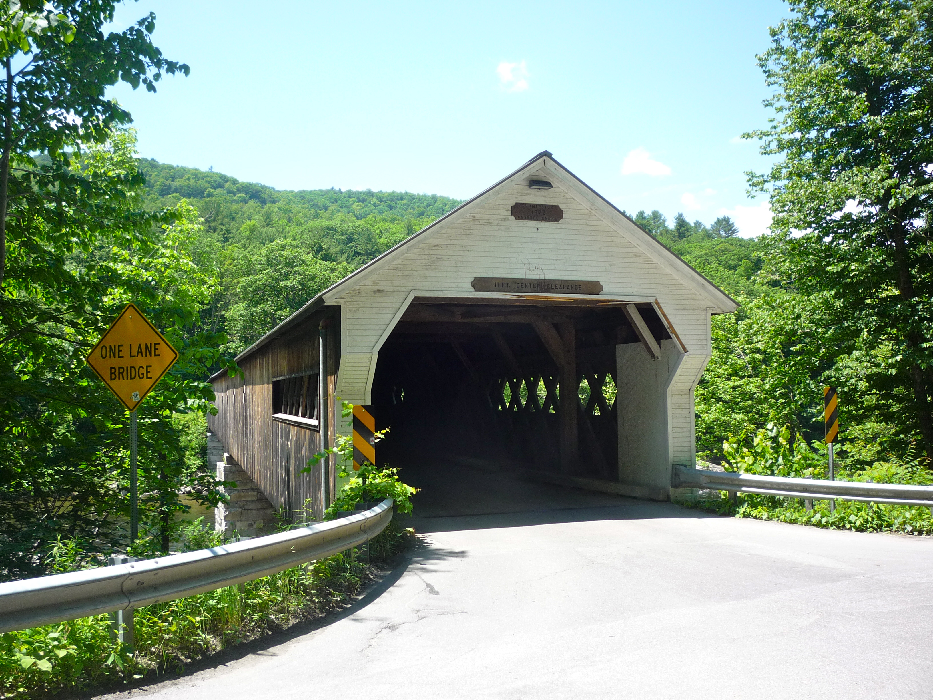 Picture of Dummerston Covered Bridge, Dummerston VT