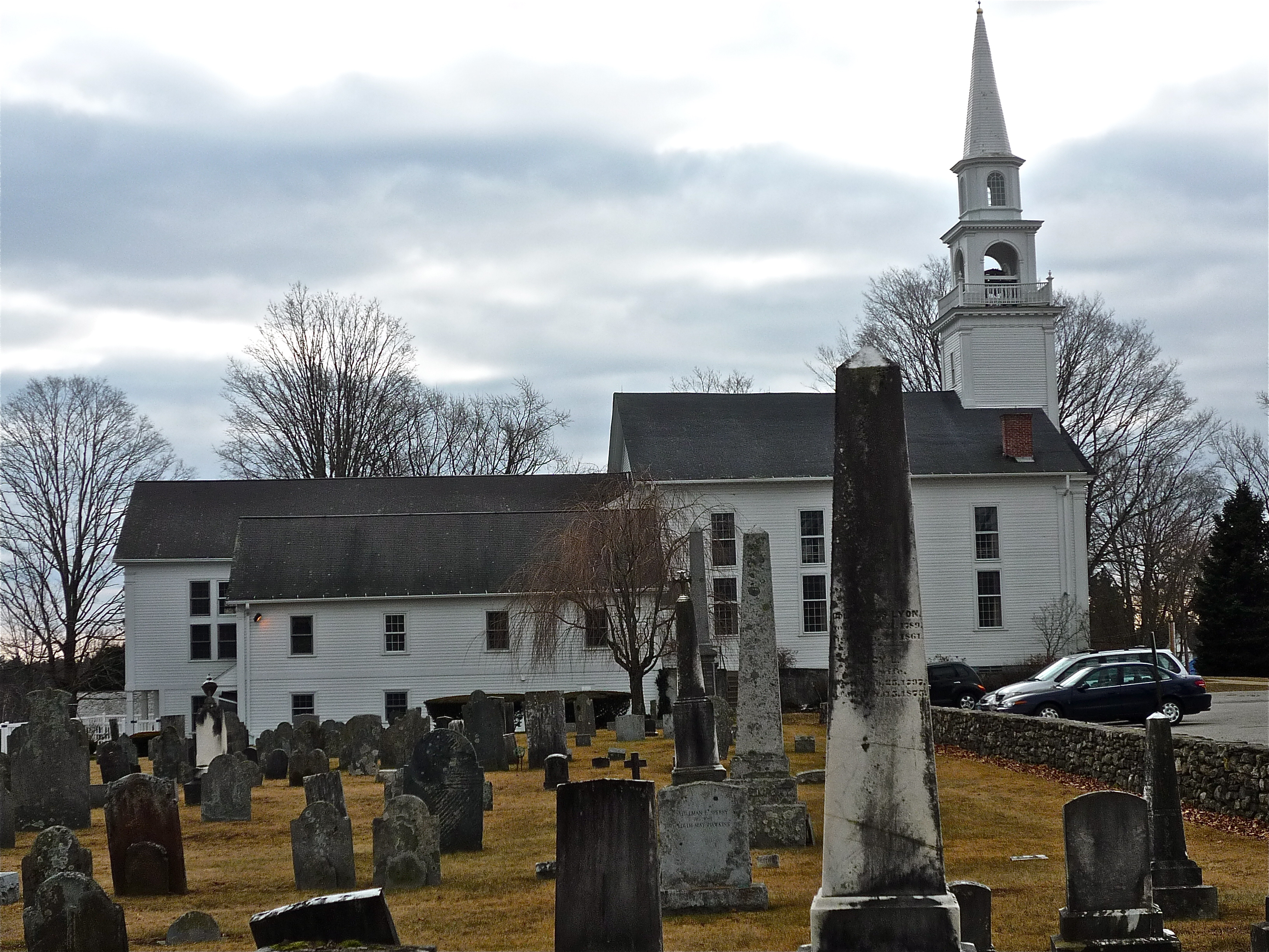 Photo of First Congregational Church and Ancient Burial Ground