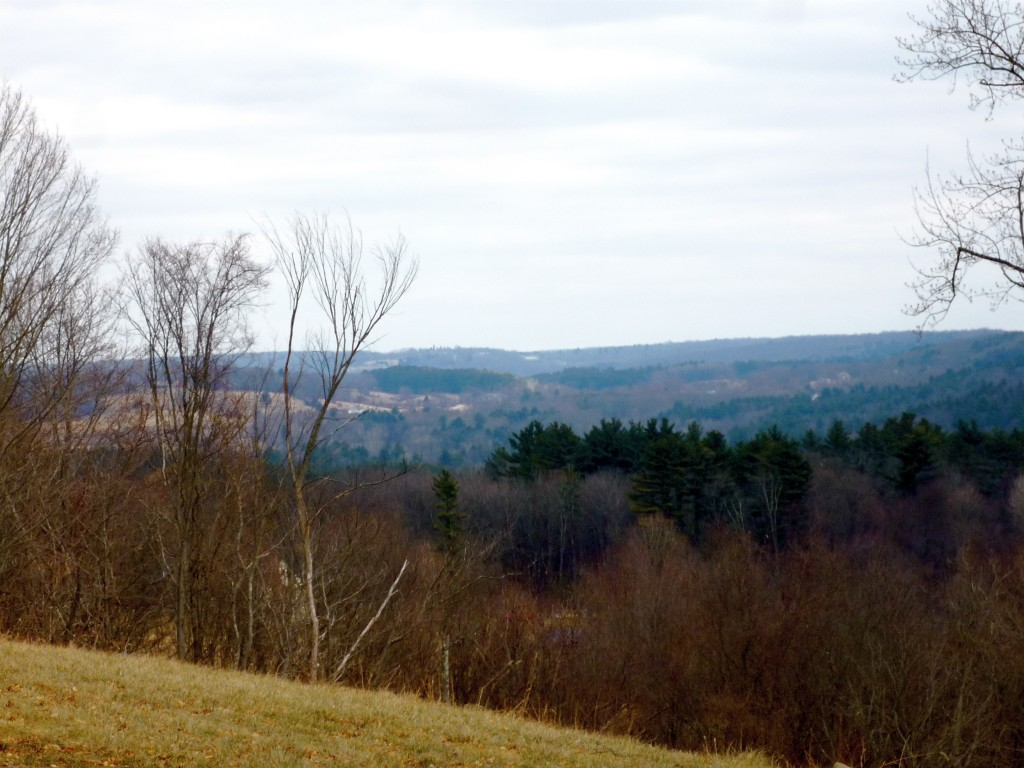 Photo of view of rolling hills from Woodstock Hill CT