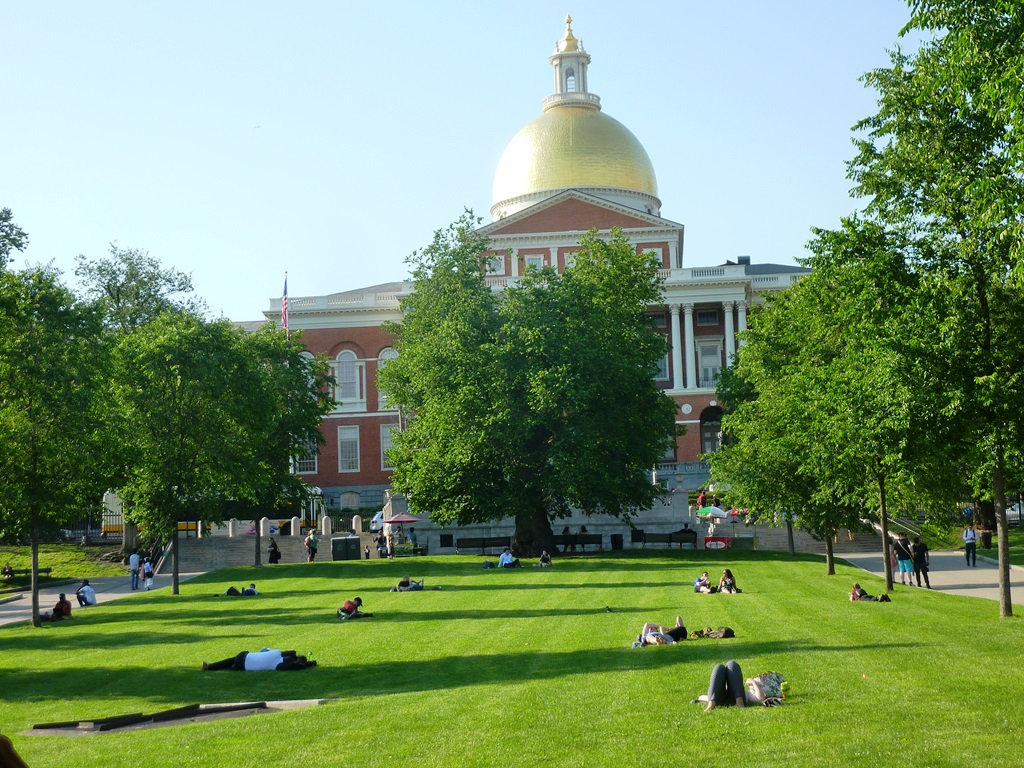 Massachusetts State House, Boston, Massachusetts