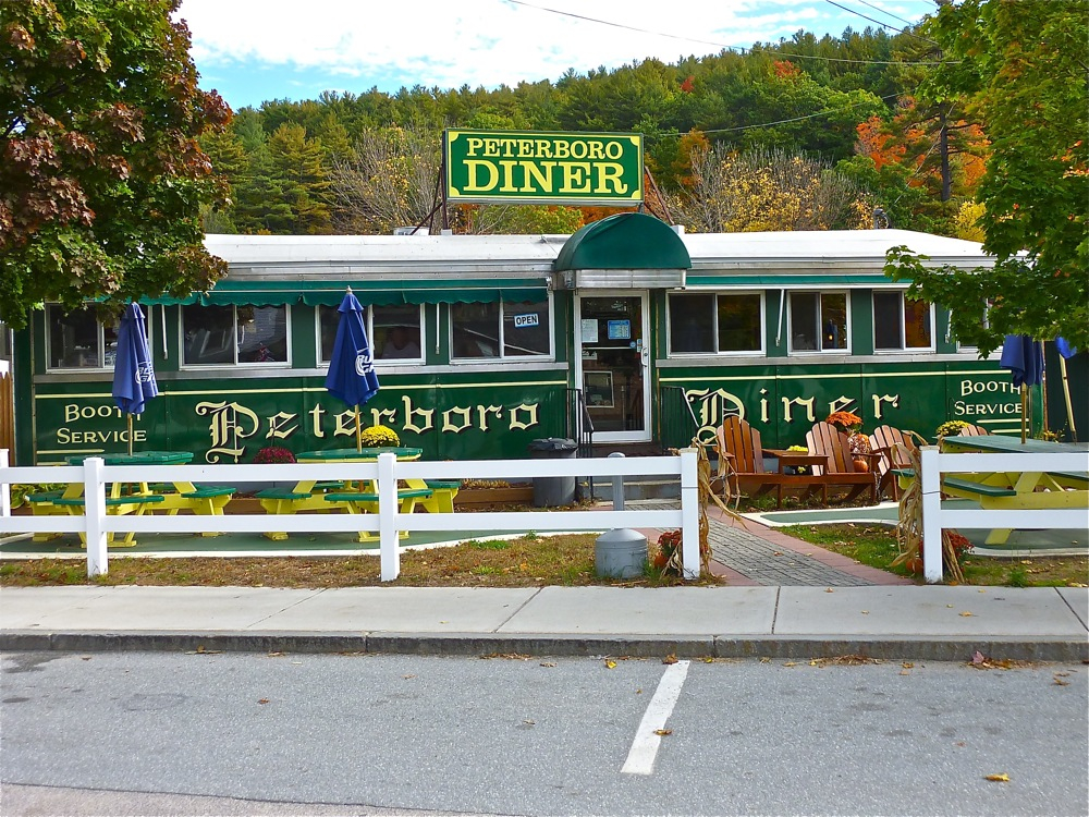 Small town treasure: The Peterborough Diner in Peterborough, New Hampshire
