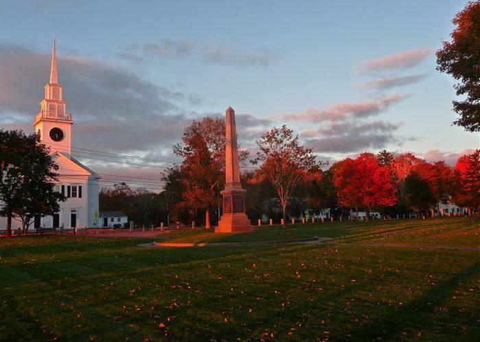 Autumn in East Bridgewater, Massachusetts...