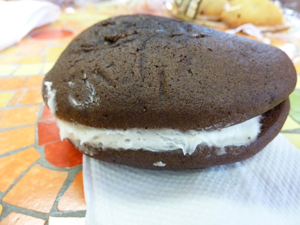 Classic Maine Whoopie Pie from Wicked Whoopies in Freeport, Maine.