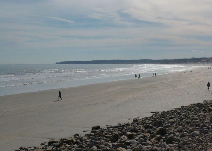 Long Sands Beach in York Beach, Maine