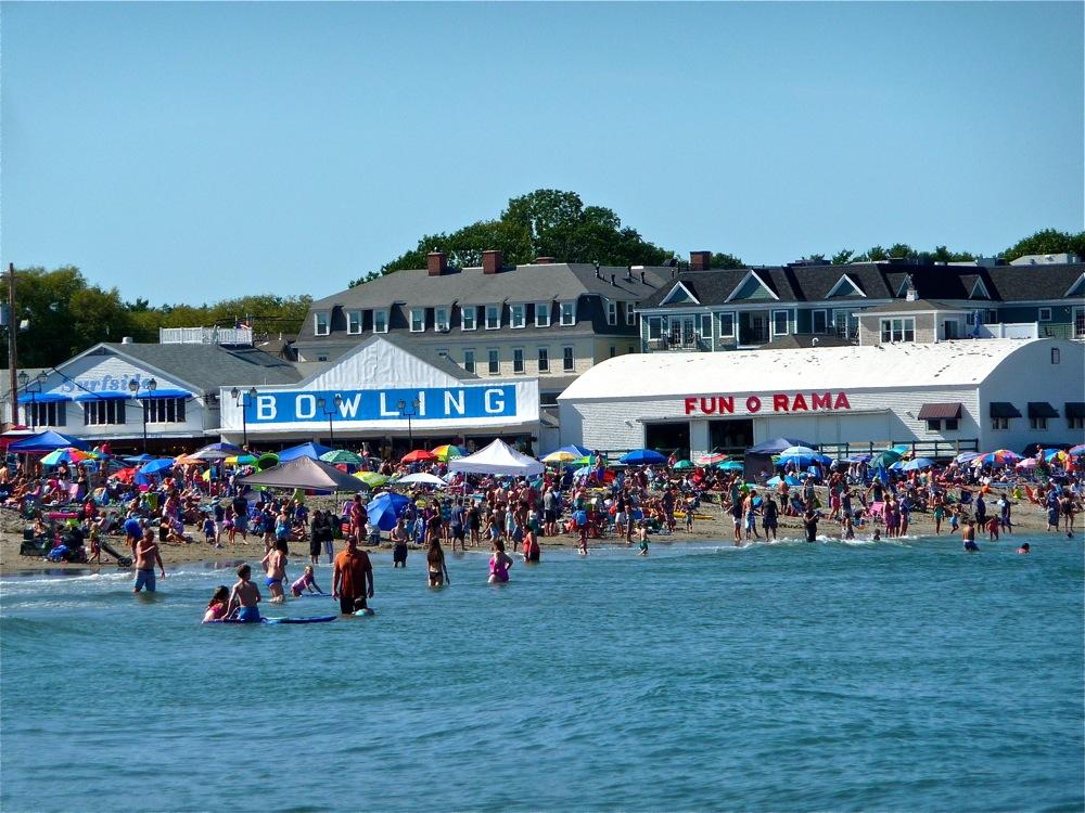 Sort Sands Beach, York Beach, Maine.