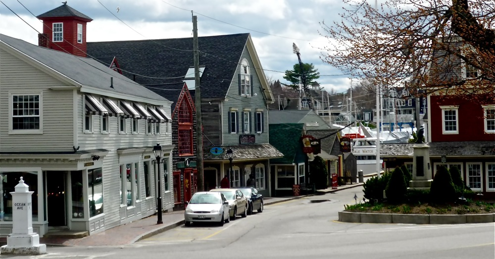 Dock Square in Kenneunkport, Maine.