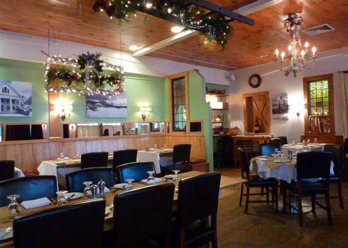 Famous filmmaker Ken Burns co-owns this quaint French bistro in a small New Hampshire town...