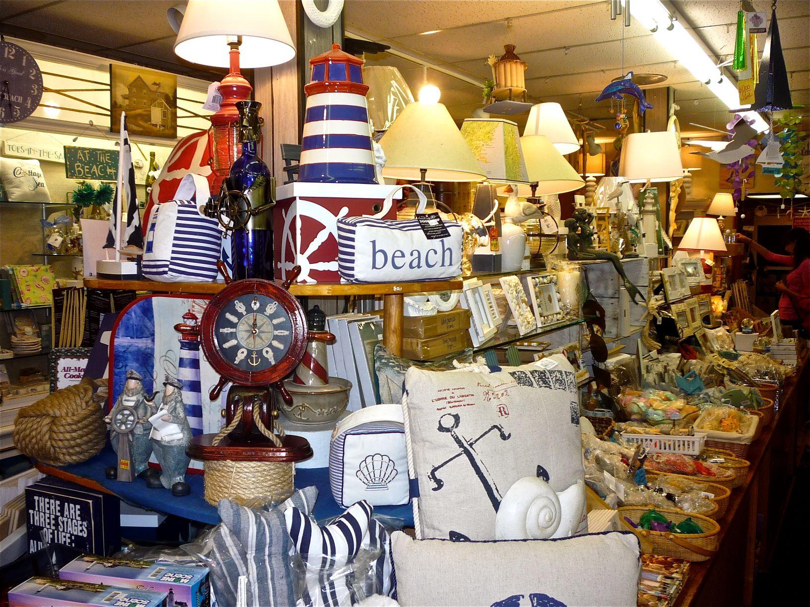 Joan's Beach and Gift Shop in York Beach, Maine.