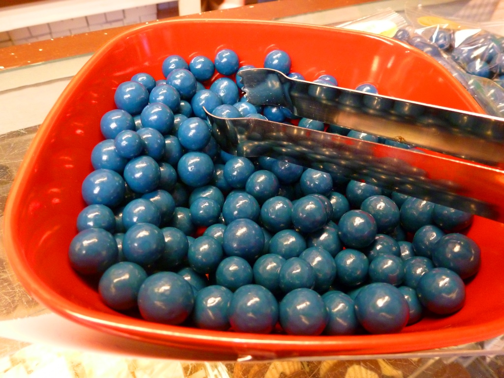 Blueberry candy from Len Libby Candy in Scarborough, Maine.
