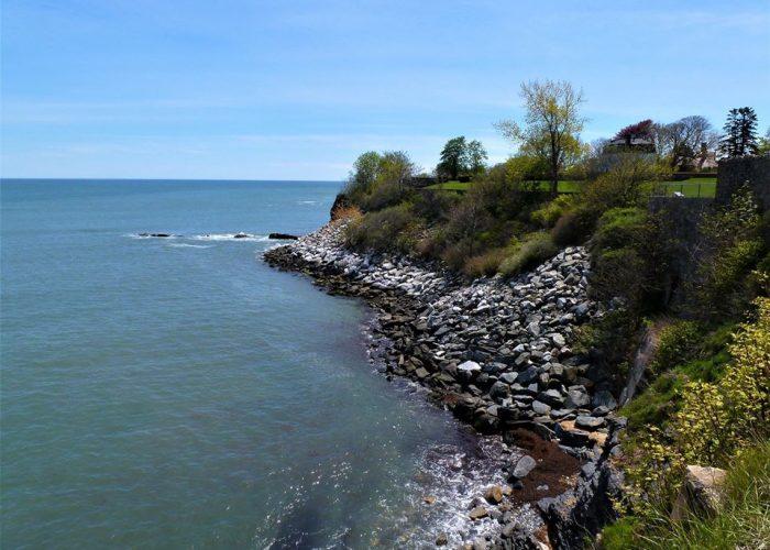 The Cliff Walk, Newport, Rhode Island