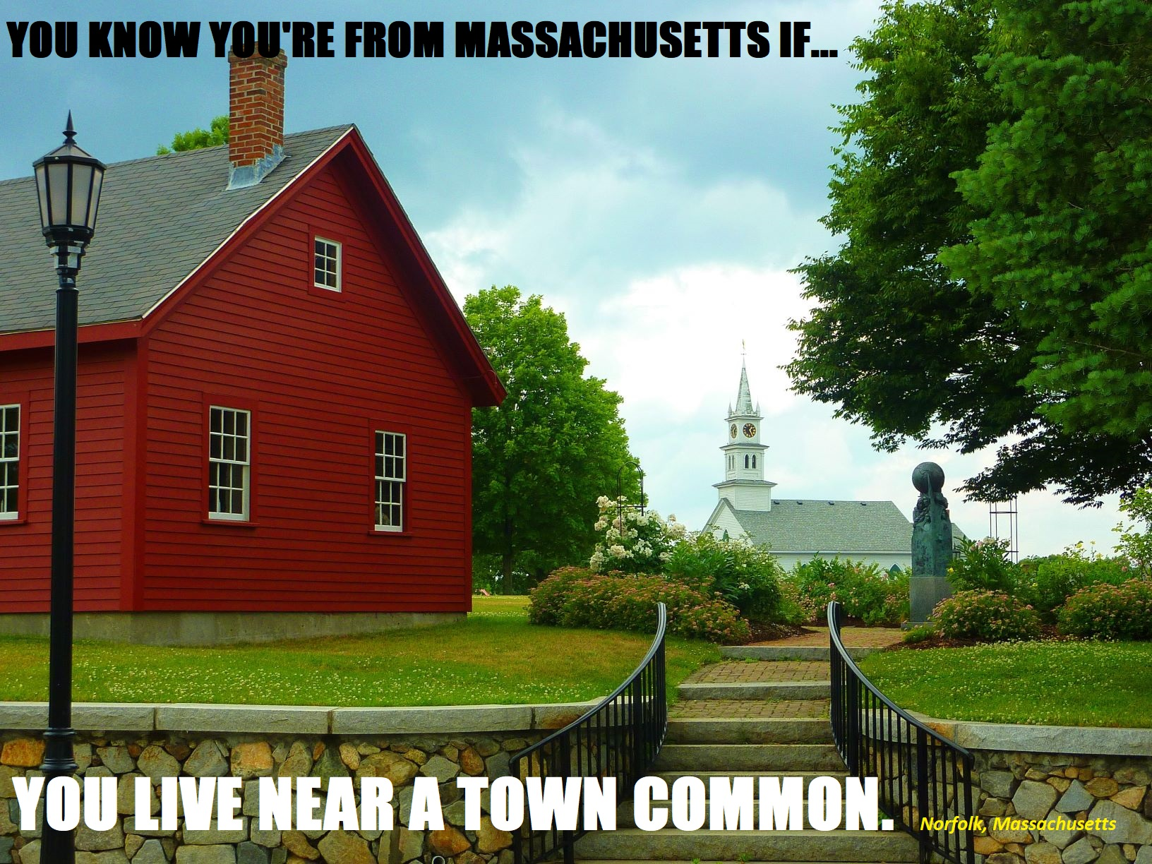 You know you're from Massachusetts if...