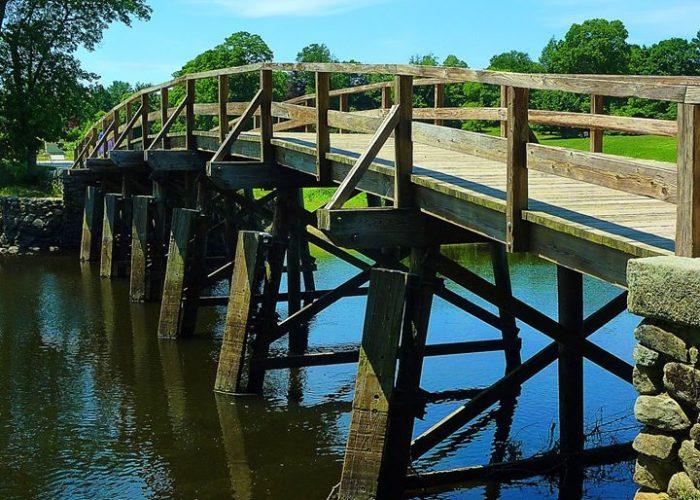 Old North Bridge, Concord, Mass.
