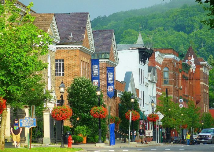 The beautiful Village of Cooperstown, N.Y.
