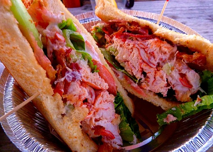 Lobster BLT from Dillon's Local in Plymouth, Mass.