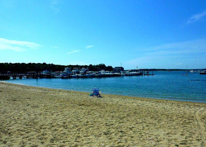 Monument Beach in Bourne, Mass. (Cape Cod)