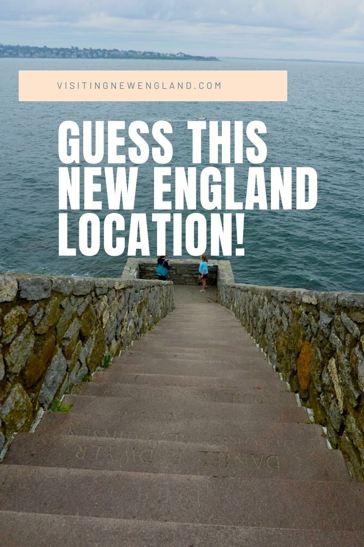 Can you guess the location of this staircase to the ocean in New England? Read the article for hints and the answer!