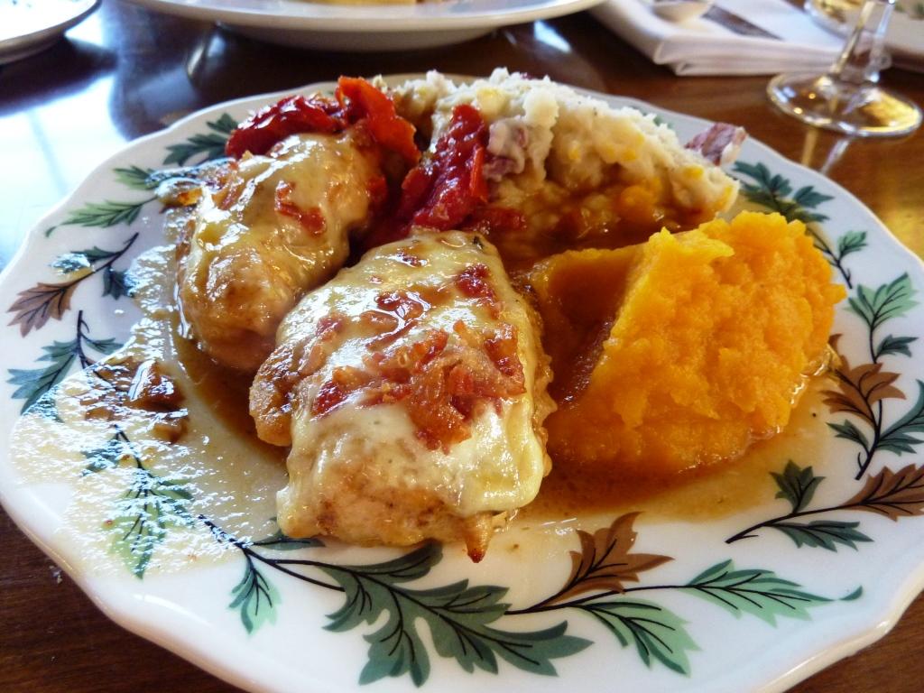 Maple Jack Chicken from the Salem Cross Inn in West Brookfield, Mass.