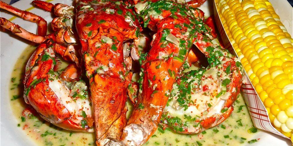 Pan roasted lobster from Jasper White's Summer Shack in Cambridge, Mass.