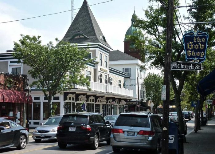 Can you guess the location of this quaint small town in New England? Read on for hints and the answer!