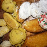 A sampling of Bova's Italian cookies