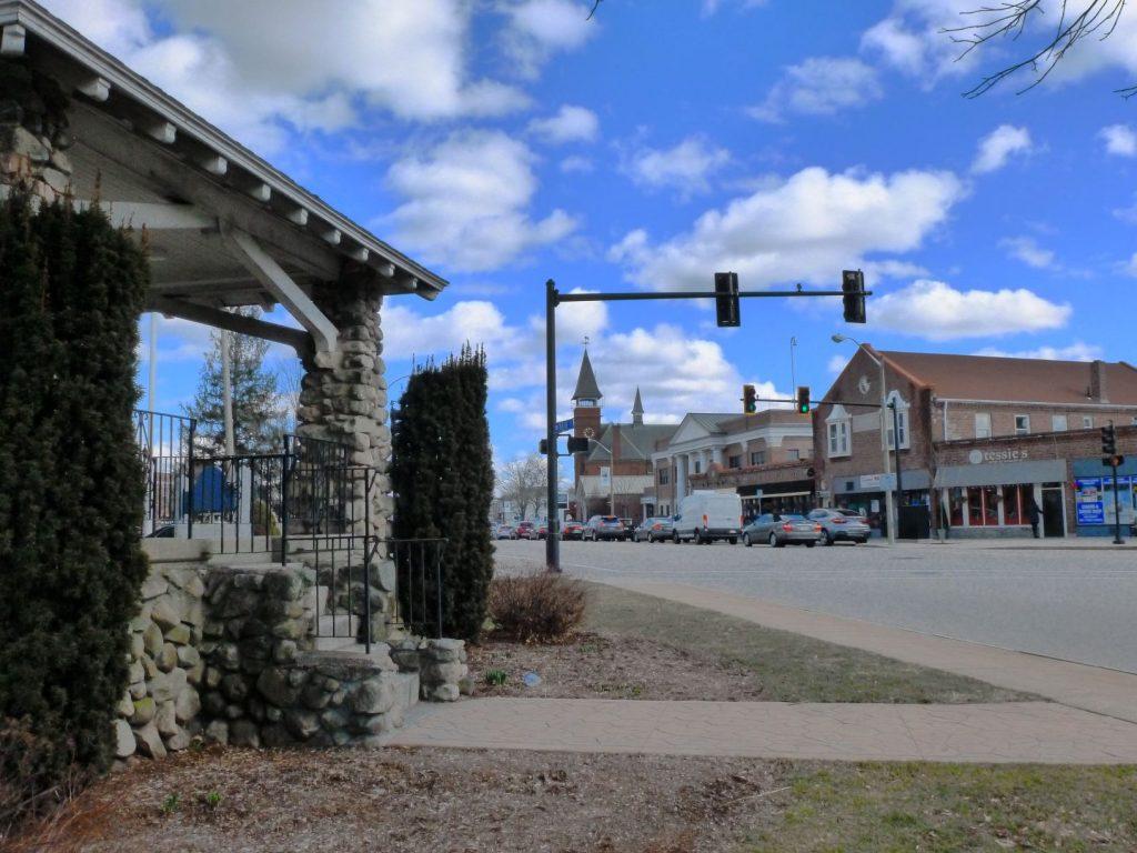 Main Street in Walpole, Massachusetts
